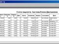 Печать списка счётов стоматологического пациента в DentExpert